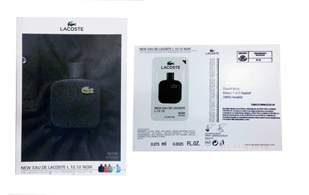 ejemplo de mailing postal muestra de producto